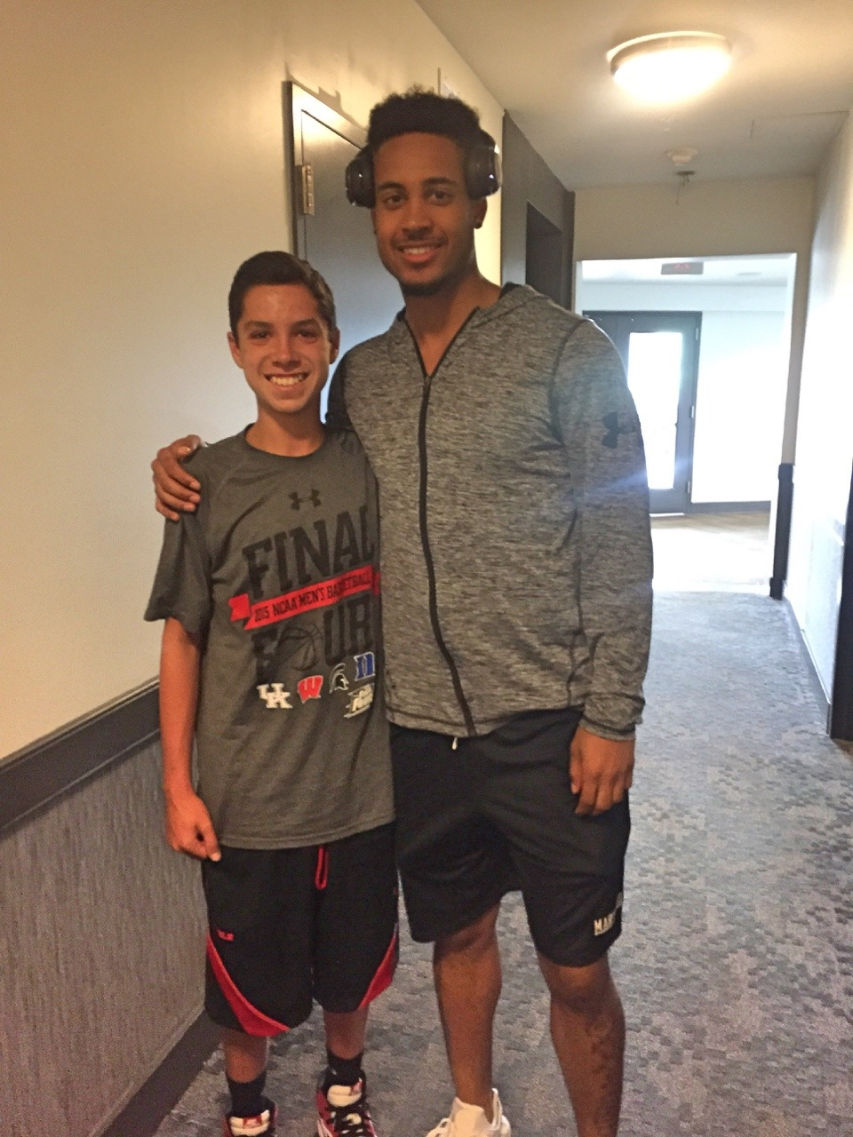 Melo Trimble is Maryland's Hometown Hero