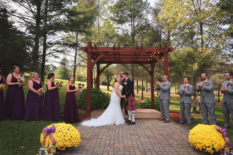 Binghamton-NY-Wedding-DJ-Ceremony-River-Run