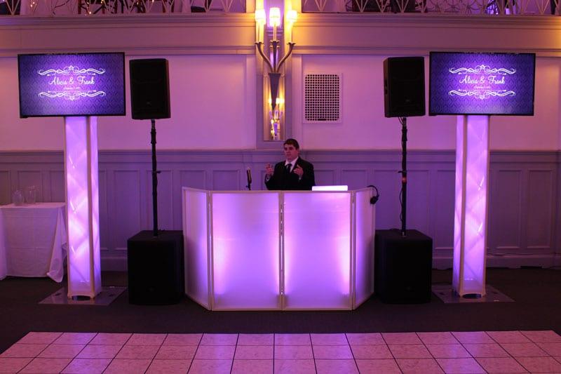 Binghamton-NY-Wedding-DJ-Multimedia-Screens