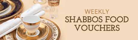 Weekly Shabbos Food Vouchers