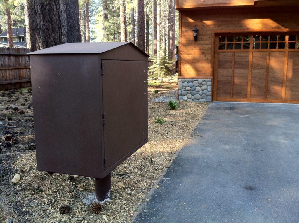 Brown PAW Box