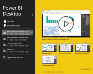 Creating Visualizations and Reports Using PowerBI