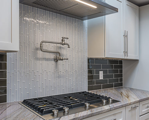 Custom Oven, Countertops and Pot Filler