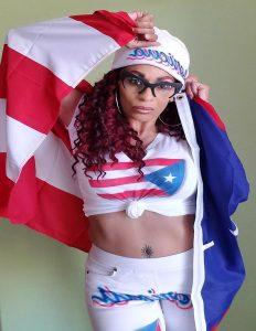 STACEYE BEATTY American Flag