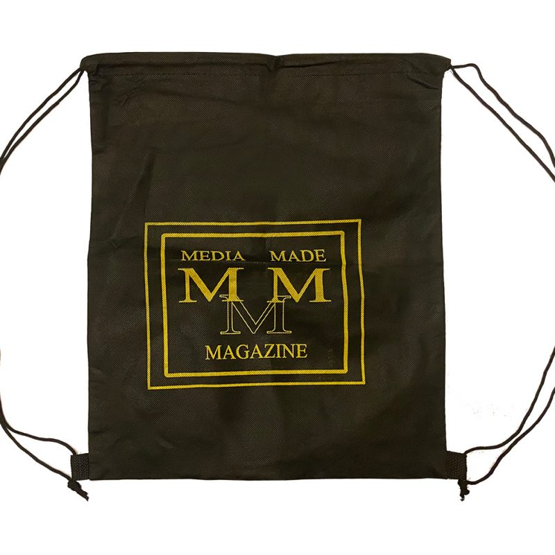 Media Made Back Pack Bag