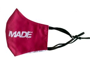 Pink Media Made Mask