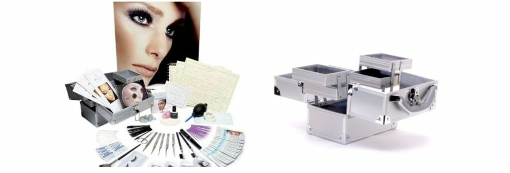eyelash extensions training kit