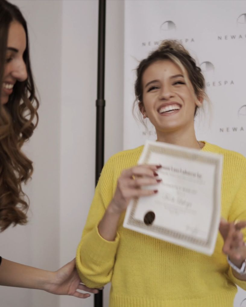 skin care training in montreal student facial diploma