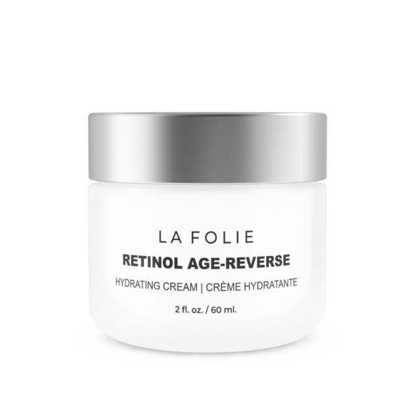 La Folie anti-aging cream hydrate and reduce wrinkles, pigmentation age spots fine line in laval montreal new age spa