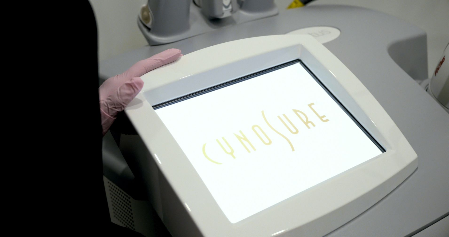 laser hair removal machine by cynosure