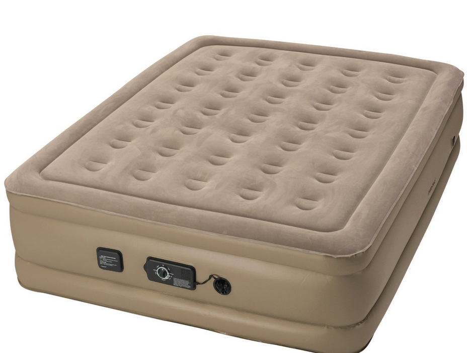 Insta Raised Air Bed with Never Flat Pump