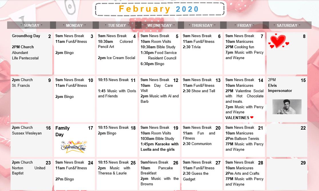 February 2020 - small