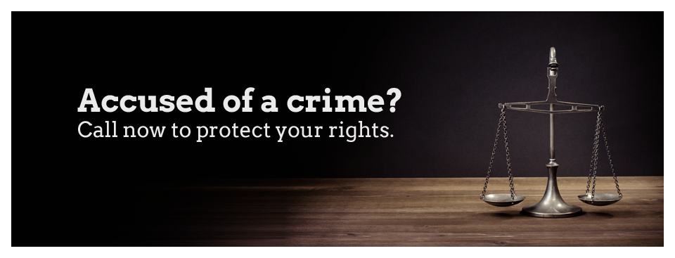 Accused of a crime? Protect your rights.