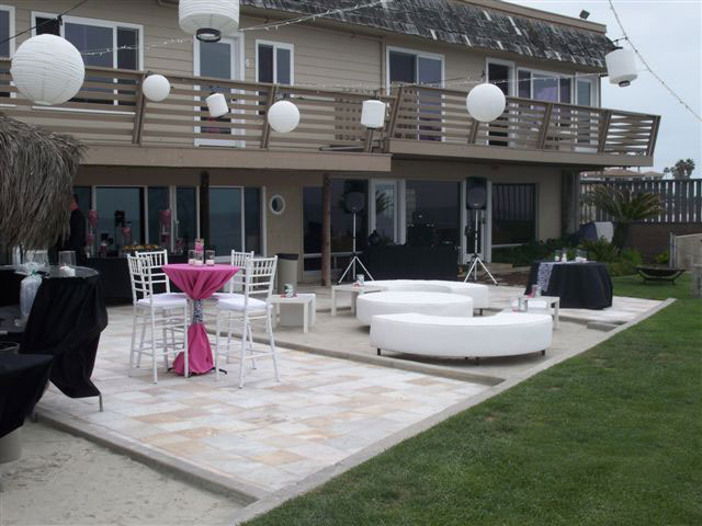 Ocean-View-Villas-Wedding-reception-set-up