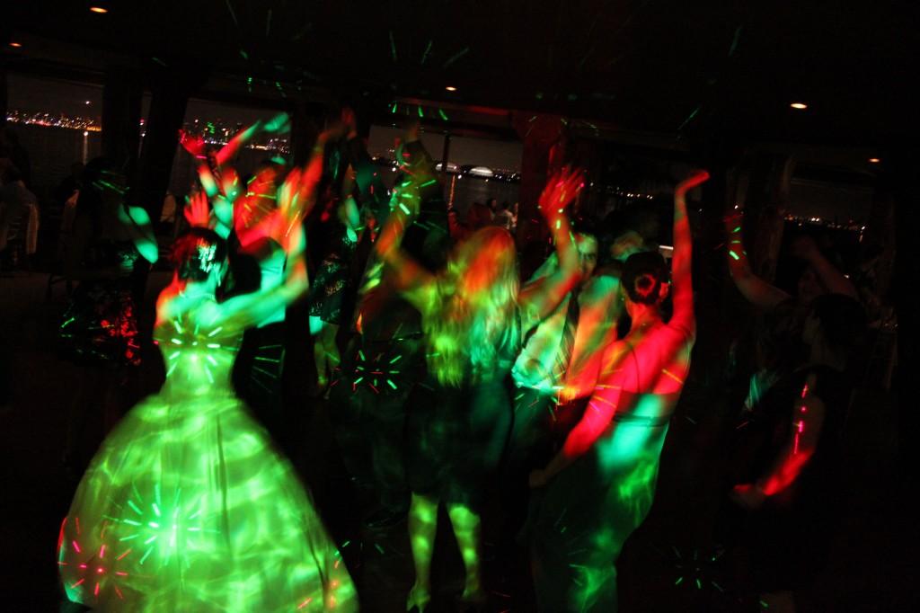 MY DJs Dance Floor at Bali Hai Wedding Reception
