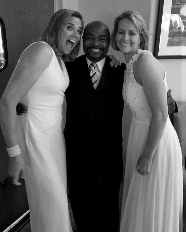 Dj pride wedding