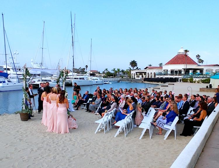 bayside ceremony san diego
