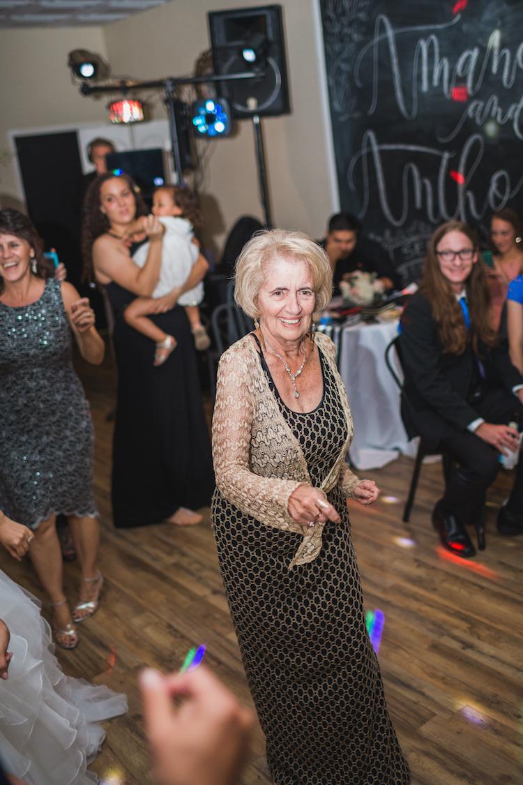 wedding dance floor dj