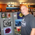 Artist Sean Noman at Studio 78 in Ashland