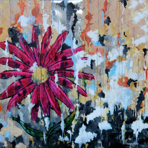 texture, bright colors, acrylic, panel, southern Oregon Art by Cammy Davis
