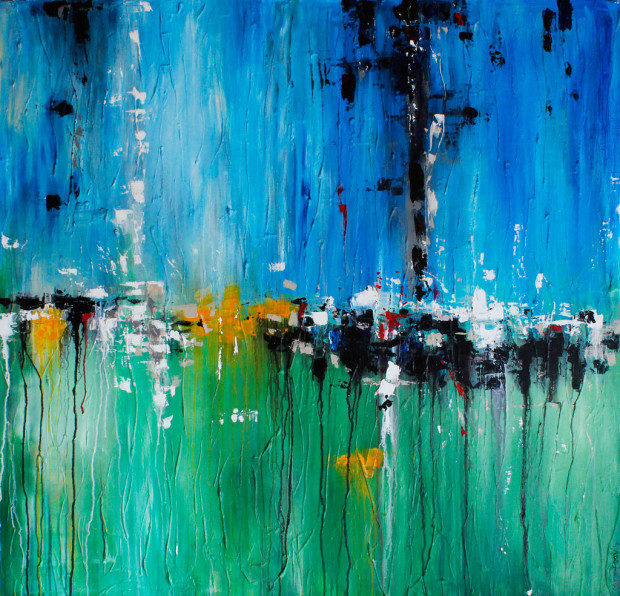 Flight, Flying, Letting Go, Emotions in Art, Abstract, Expressionism, Cammy Davis