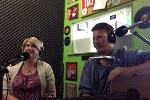 Cammy Davis and Darrin Wayne at KSKQ
