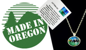 Made in Oregon retail stores carries art jewelry