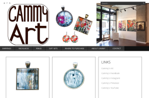 Cammy Art Website