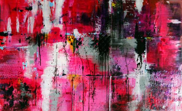 Loose, Abstract, Brushstrokes, Splatter, pollocking, Throwing, Paint
