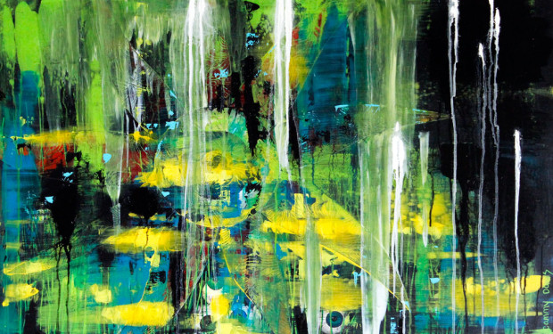 Contemporary Art by Abstract Expressionist Cammy Davis
