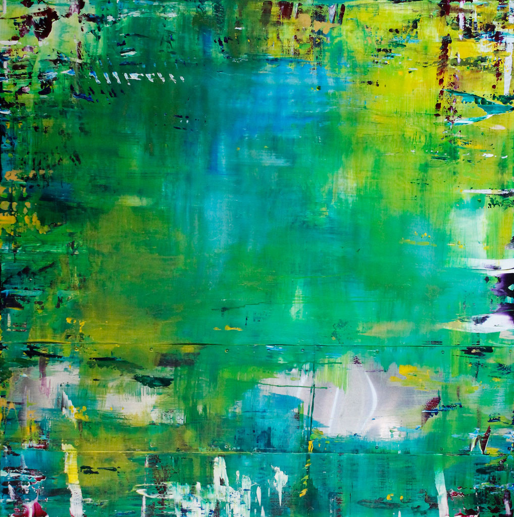 Oregon Artist, Abstract Art, Contemporary, Loose Brushstrokes, Sheet Metal, Music as Muse, Art to Music