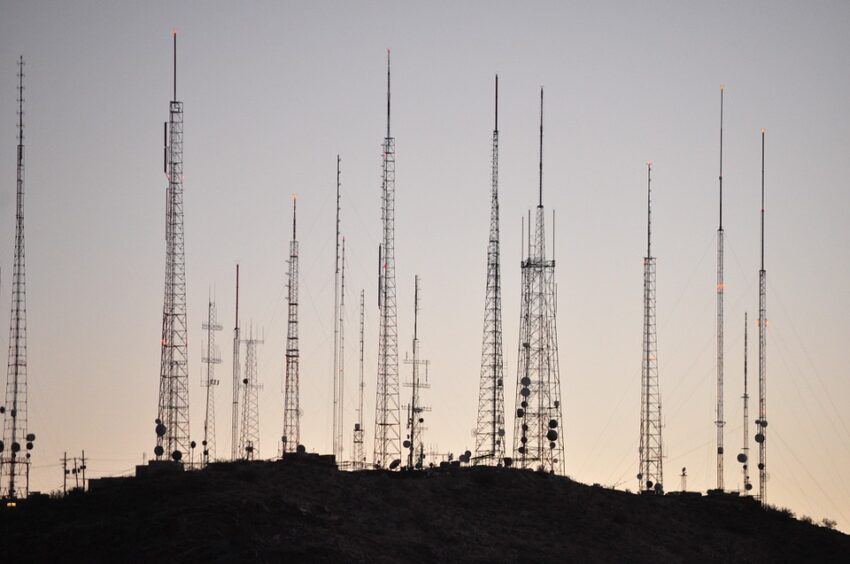 Countless towers.