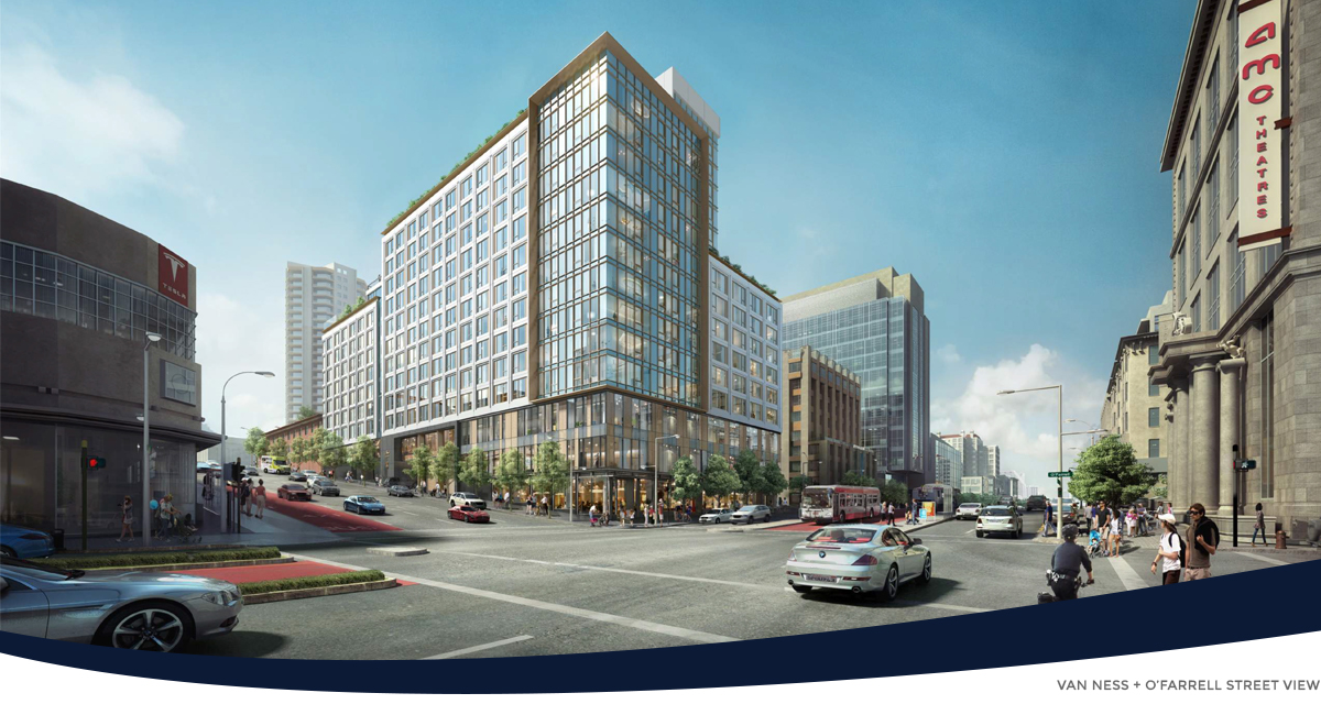 1001 Van Ness Avenue Rendering