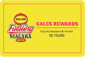 Gales Rewards; GAS STATIONS & WHOLESALE & HOME HEATING FUEL DELIVERY NIAGARA