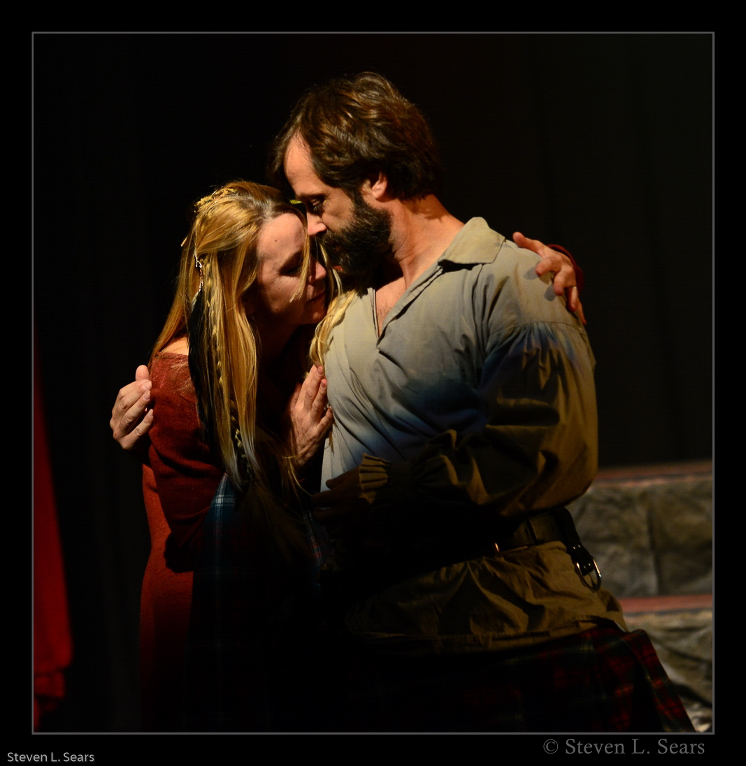Renee O'Connor and Jed Sura
