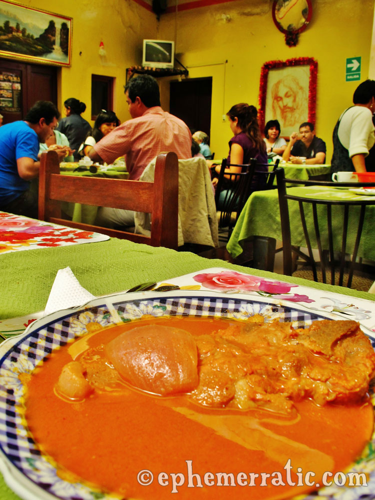 Sabor Caymeño's adobo, Cayma district, Arequipa, Peru photo