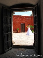 Bride awaits, Santa Catalina Monastery and Convent, Arequipa, Peru photo