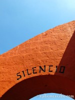Silent demand, Santa Catalina Monastery and Convent, Arequipa, Peru photo