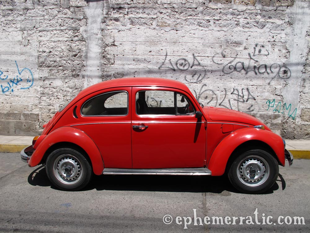 Red VW, Arequipa, Peru photo