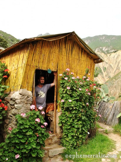 Llahuar Lodge cabin 105, Colca Canyon, Peru photo