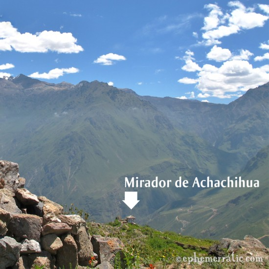 Mirador de Achachihua, Cabanaconde, Peru photo