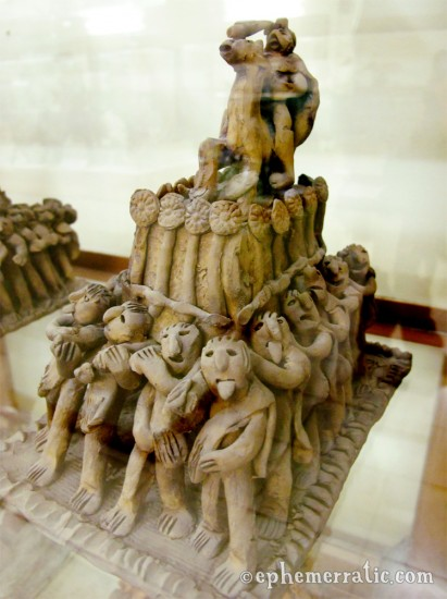 Procession sculpture, Museo del Arte Popular, Cusco, Peru