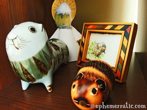Guinea pig shrine photo