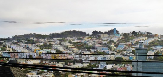 View from Bernal Heights, San Francisco photo