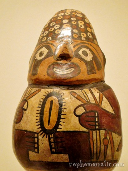 Showing the goods, Museo Larco, Lima, Peru