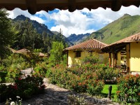 Urubamba, Peru, Hotel Sol y Luna view from hotel room photo