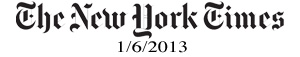 The New York Times 1-6-13