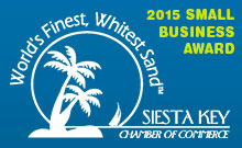 Siesta Key Chamber Small Business Award