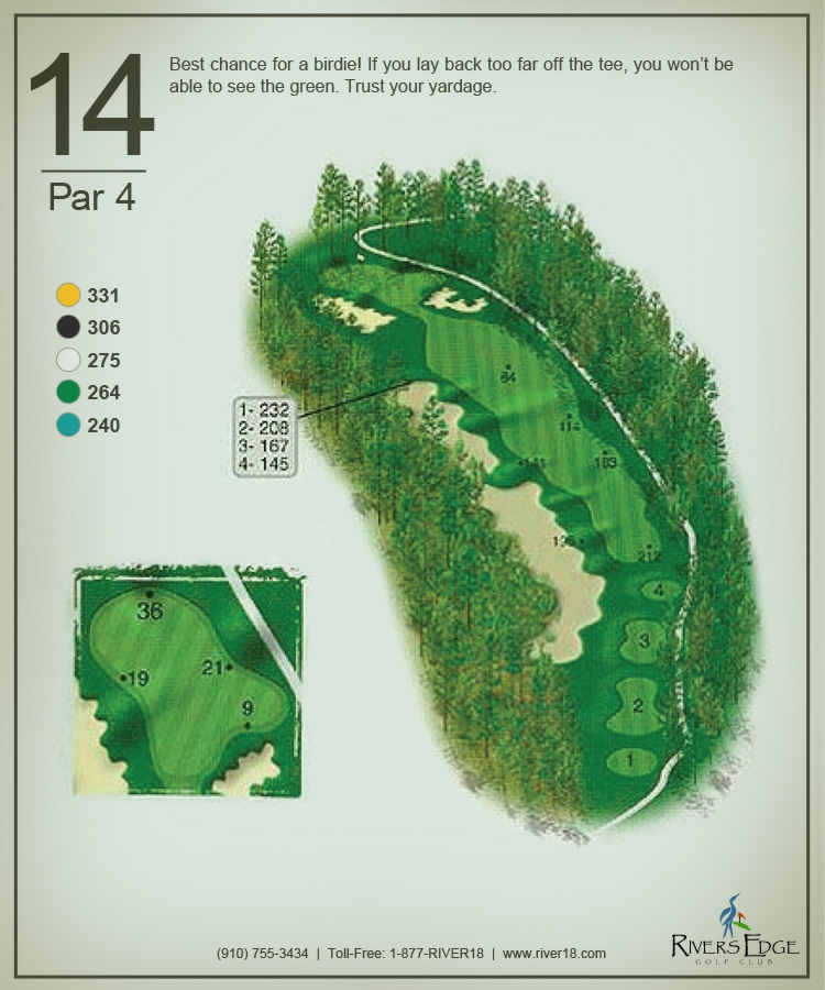 Rivers Edge Hole 14