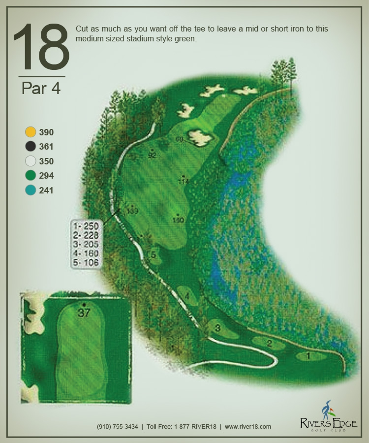 Rivers Edge Hole 18